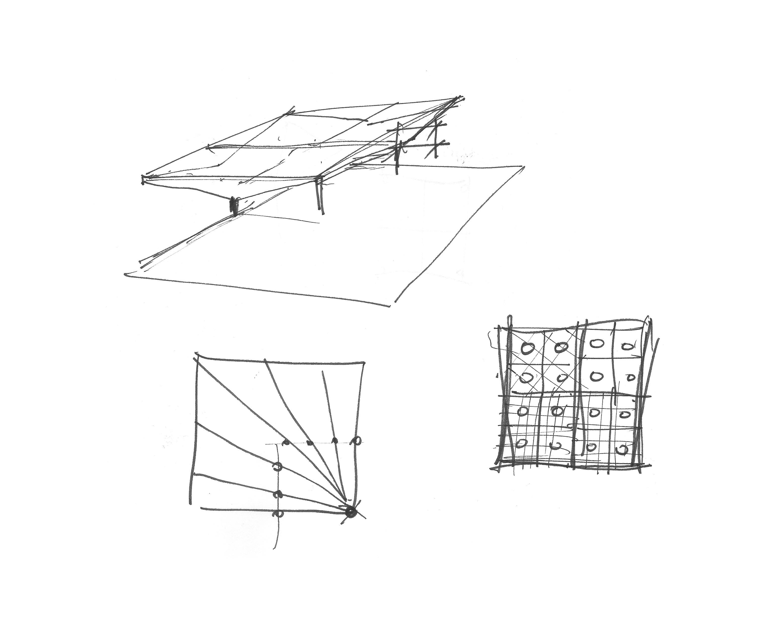 Skizzen von Bauingenieur T. Boyle