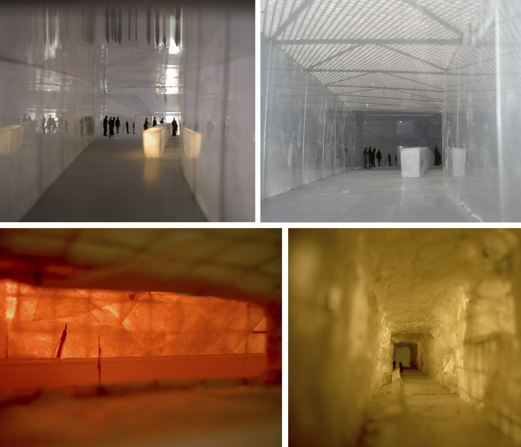Innenraum der Vodkabar, verschiedene Lichtverhältnisse: TAG-NACHT
