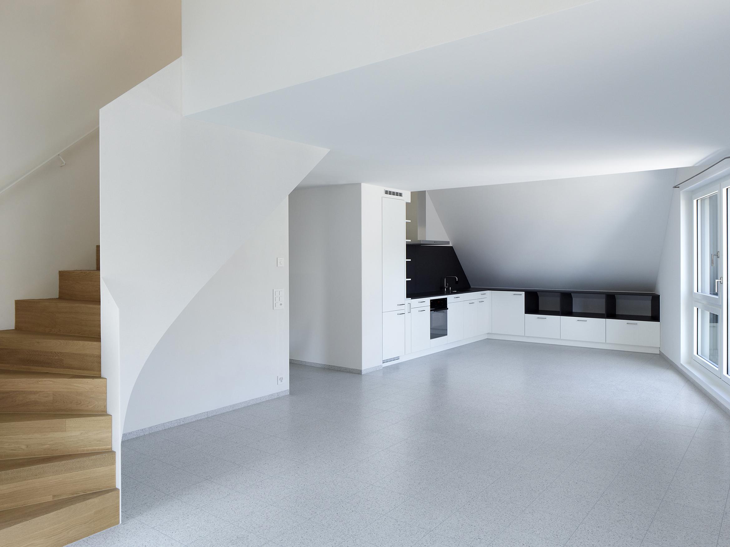 Innenansicht Dachgeschosswohnung