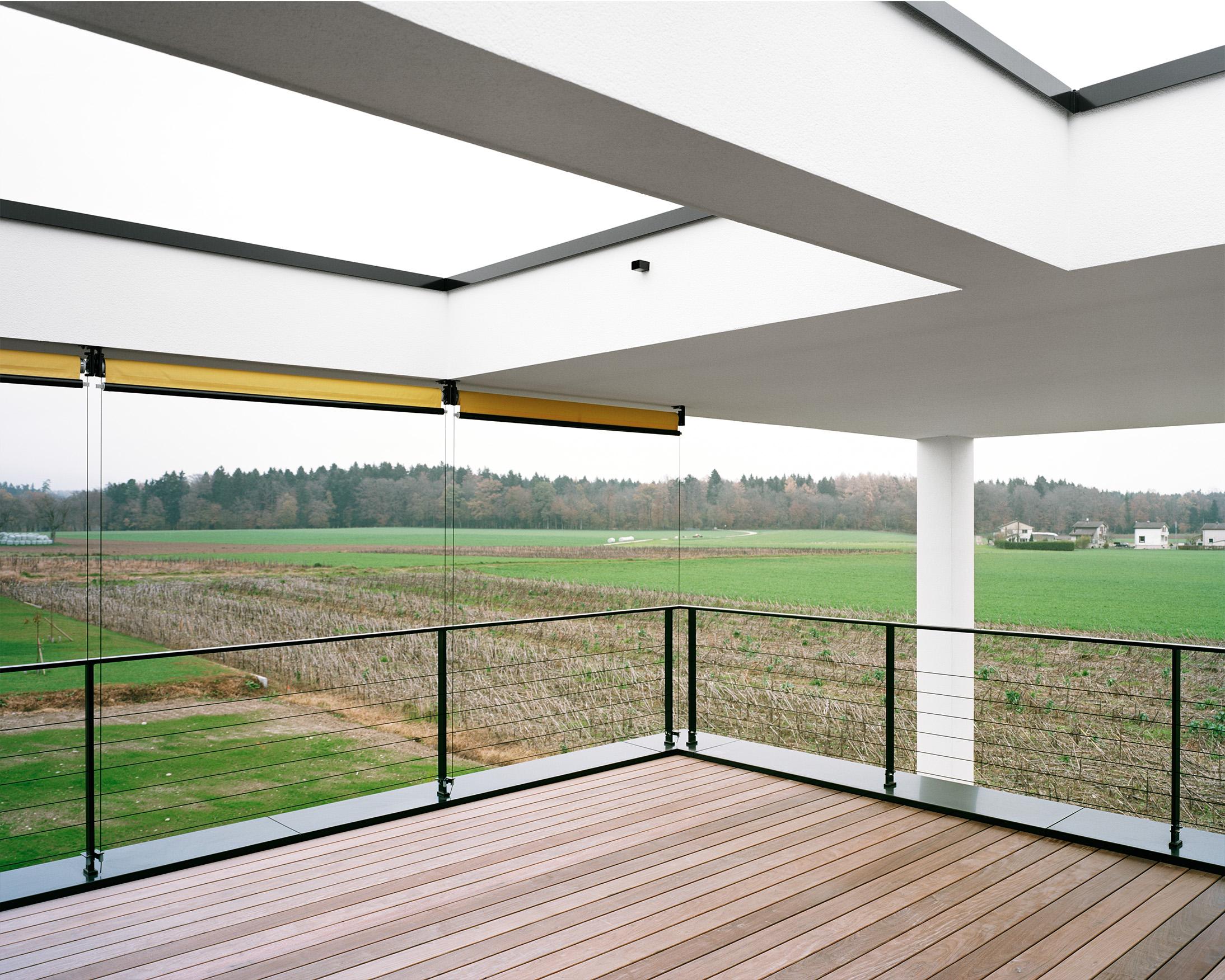 Terrasse im Obergeschoss