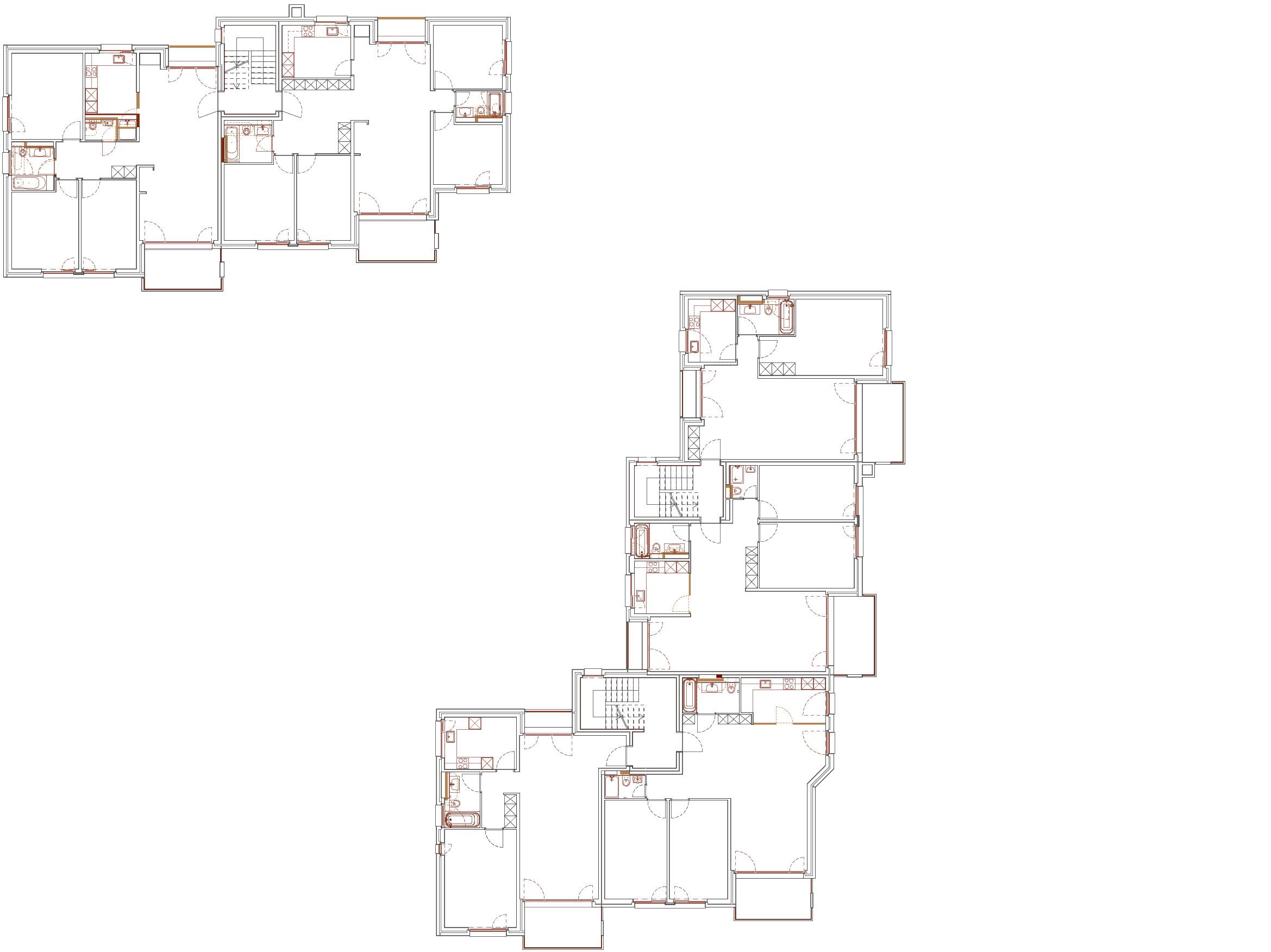 Strangsanierung 2 MFH mit 17 Wohnungen